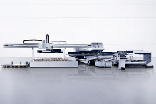 NEW TRUMPF COMBINATION MACHINE